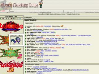The Mugen Fighters Guild Database